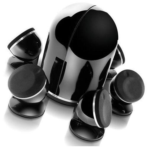 FOCAL DOME 5.1 CZARNY DIAMOND - mini zestaw kina domowego 5.1 | Zapłać po 30 dniach | Gwarancja 2-lata, DOME PACK 5.1 DIAMOND BLACK