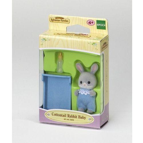 Sylvanian Families, dziecko szarych króliczków, zestaw z figurką, 3405 z kategorii Pozostałe lalki i akcesoria