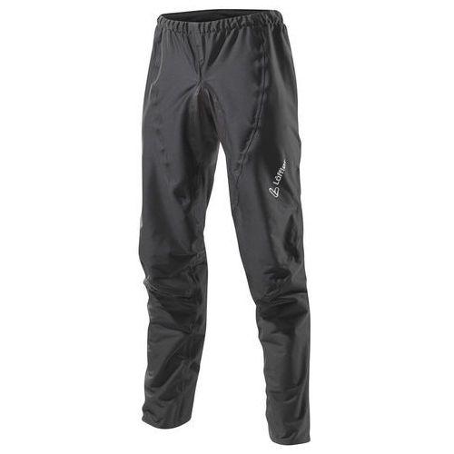 Löffler GTX Active Spodenki rowerowe Mężczyźni 1 czarny 58 2018 Spodnie MTB długie