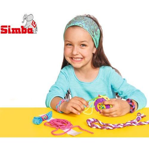 zestaw do plecenia bransoletek marki Simba