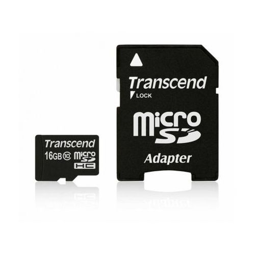 TRANSCEND 16GB TS16GUSDHC10 >> BOGATA OFERTA - SUPER PROMOCJE - DARMOWY TRANSPORT OD 99 ZŁ SPRAWDŹ!