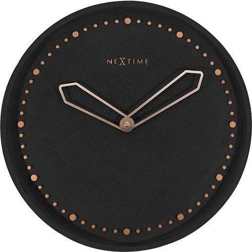 Zegar ścienny Cross czarny, kolor czarny