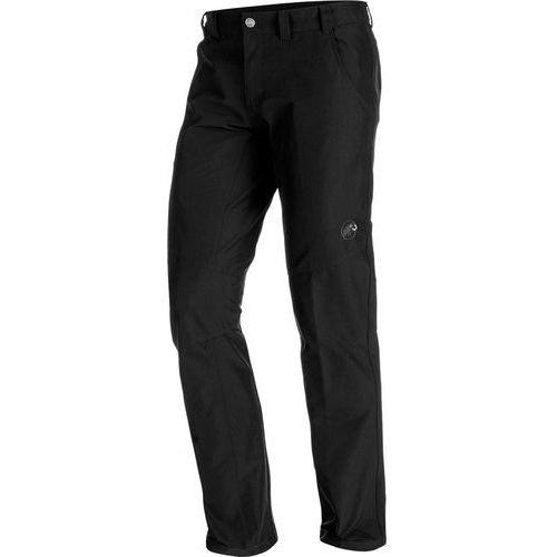 hiking spodnie długie mężczyźni regular czarny de 56 2018 spodnie turystyczne marki Mammut