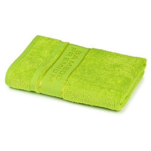 ręcznik kąpielowy bamboo premium zielony, 70 x 140 cm, 70 x 140 cm marki 4home