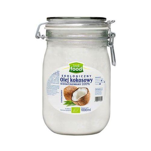Look food 1l olej kokosowy nierafinowany zapachowy bio