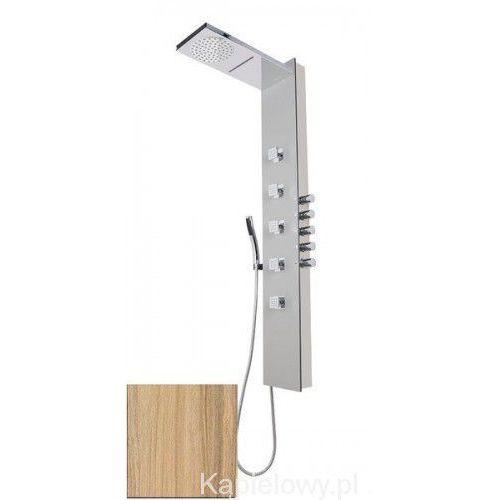 SOUL 200 Panel prysznicowy z termostatatem, kokos 78782, 78782
