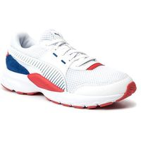 Puma Buty - future runner premium 369502 07 puma white/galaxy blue/red
