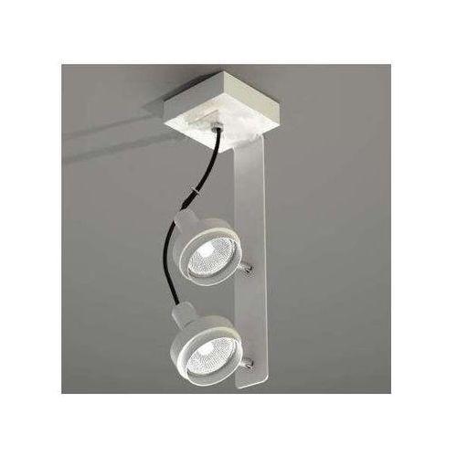 Plafon LAMPA sufitowa GERO 2205/GU10/BI Shilo reflektorowa OPRAWA metalowa biały, kolor Biały