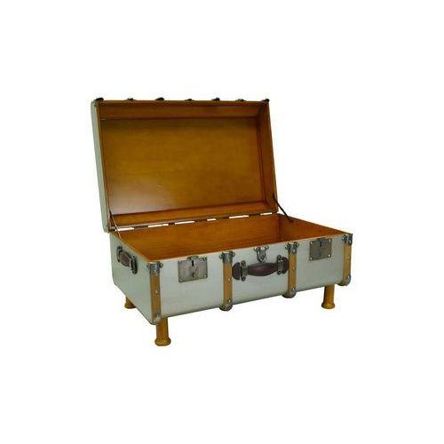 Authentic models kufer/stolik stateroom, srebrny mf040s