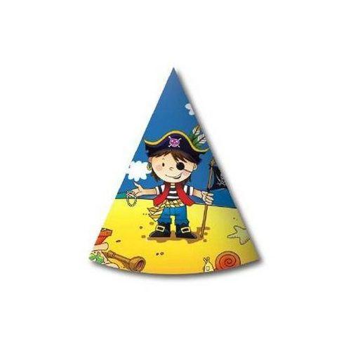 Godan Czapeczki urodzinowe pirat 6szt