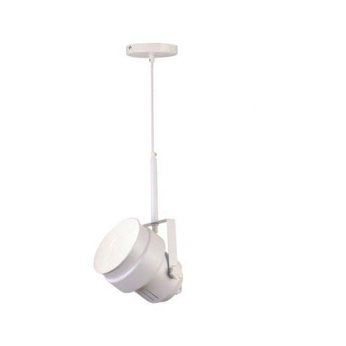 Biała lampa wisząca w stylu Glamour VIGO, kolor Biały