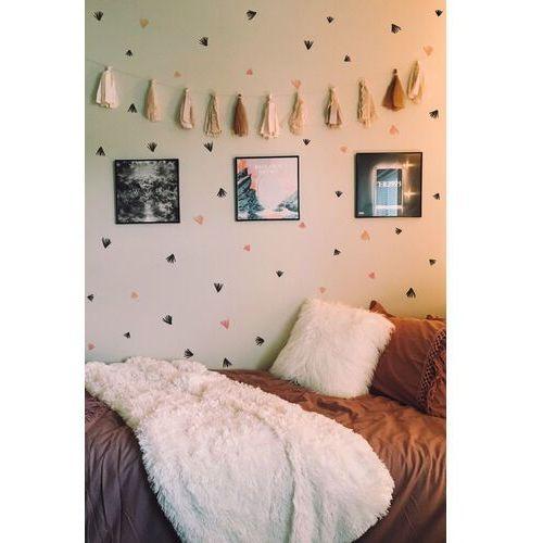 Naklejki na ścianę ręcznie malowany liść marki Coloray.pl