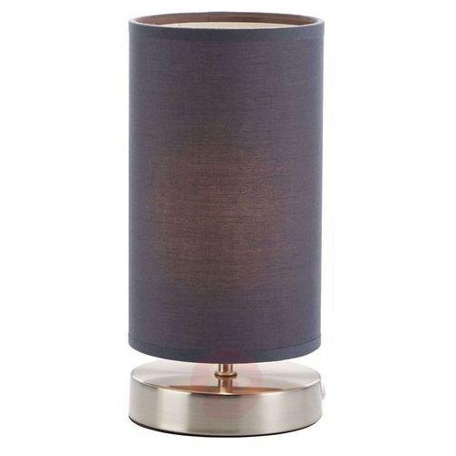 Lampka nocna Brilliant 13247/22, 1x40 W, E14, Szary, (ØxW) 12 cmx25.5 cm, 230 V