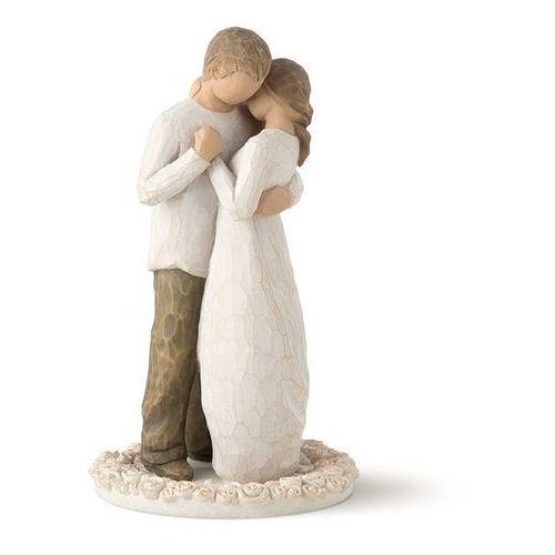Willow tree Obietnica - miłość wokół tortu promise cake topper by susan lordi 26189