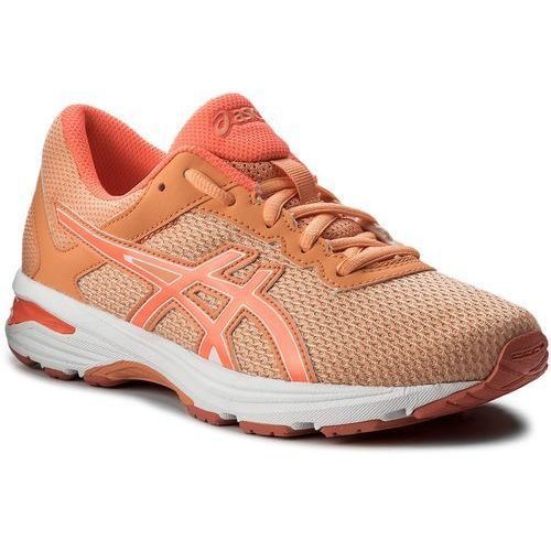 Buty ASICS - GT-1000 6 Gs C740N Apricot Ice/Flash Coral/Canteloupe 9506, kolor pomarańczowy