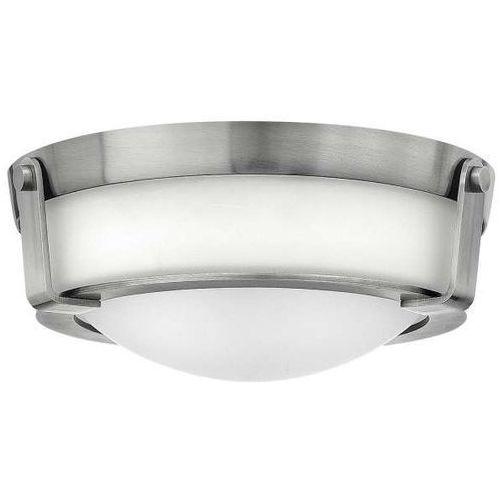 Hinkley Plafon lampa sufitowa hk/hathaway/f/sn elstead klasyczna oprawa zewnętrzna natynkowa outdoor ip44 nikiel biała (5024005289319)
