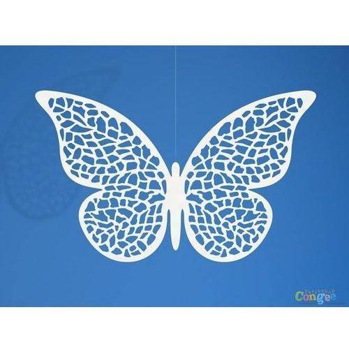 Dekoracja papierowa Motylki małe - 6,5 x 4 cm - 10 szt. (5901157459275)