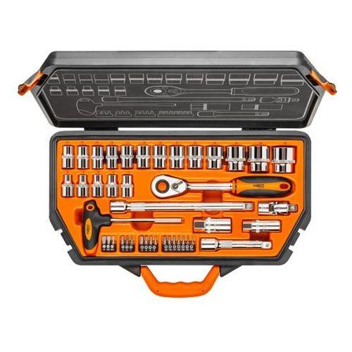 Neo Zestaw kluczy nasadowych 1/2 cala 08-621 (42 elementy) darmowy transport (5907558402711)