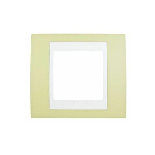 Unica Plus Ramka pojedyncza zielony pozioma MGU6.002.863 SCHNEIDER ELECTRIC, kolor zielony
