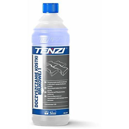 doczyszczanie kostki brukowej 1, ds-07 (1 litr, 1:20) - preparat w koncentracie do zabrudzeń ropopochodnych, smarów marki Tenzi