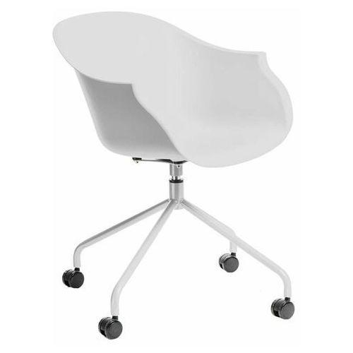 D2.design Krzesło na kółkach roundy białe - d2 design - zapytaj o rabat!