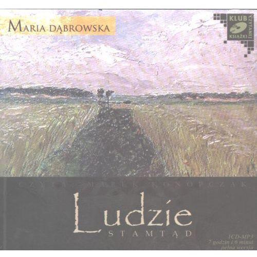 Ludzie stamtąd. Audiobook (1CD-MP3), Konopczak Marek
