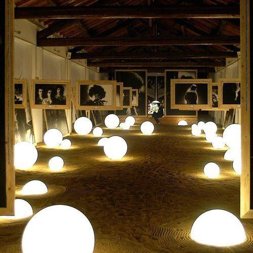 Slide Globo in-lampa podłogowa Ø70cm