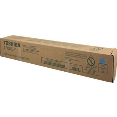 Toner Toshiba T-FC75E-C Cyan do kopiarek (Oryginalny) [35.4k] (4519232163668)