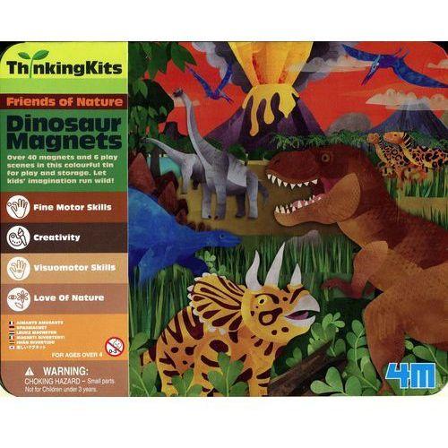 Walizka z magnesami Dinozaury (4893156047052)