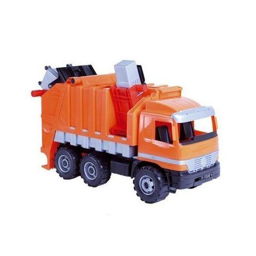 Pojazd  śmieciarka 5-02026 pomarańczowa marki Lena