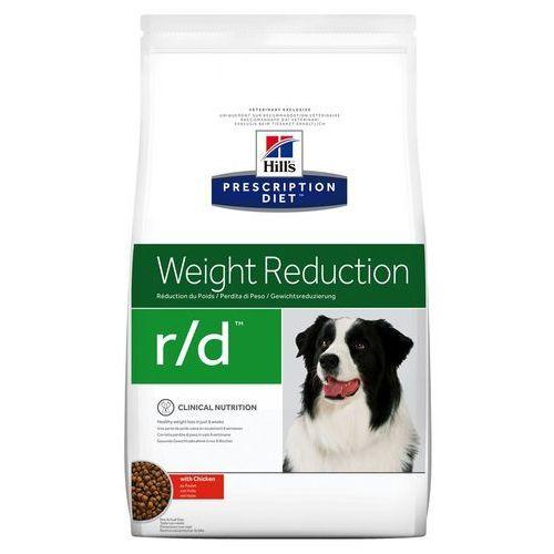 canine r/d weight reduction - 2 x 12 kg marki Hills prescription diet