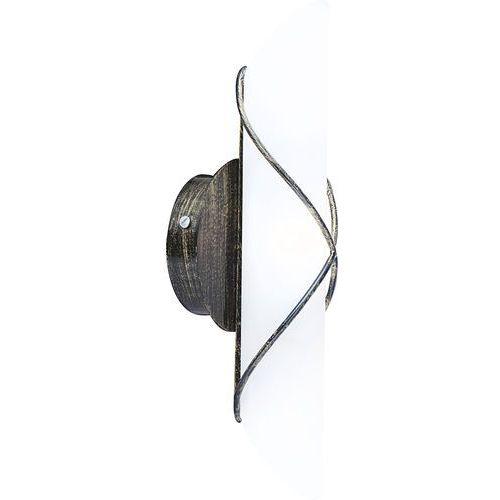Kinkiet lampa oprawa ścienna rania 1x40w e14 biały/metalowy 44137-1 marki Globo