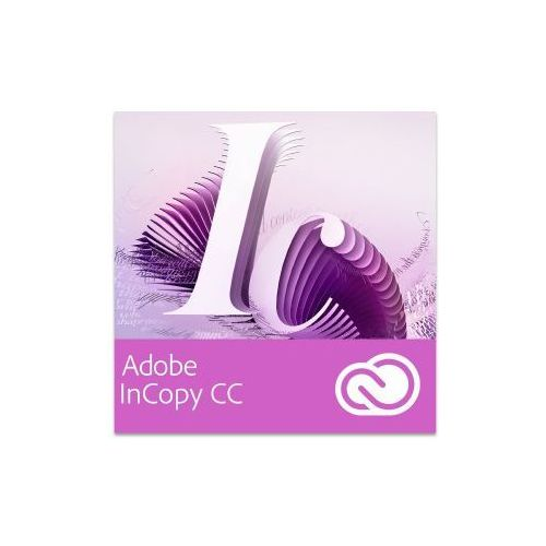 Adobe InCopy CC for Teams EU English Win/Mac - Subskrypcja (12 m-ce), 65224698BA01A12
