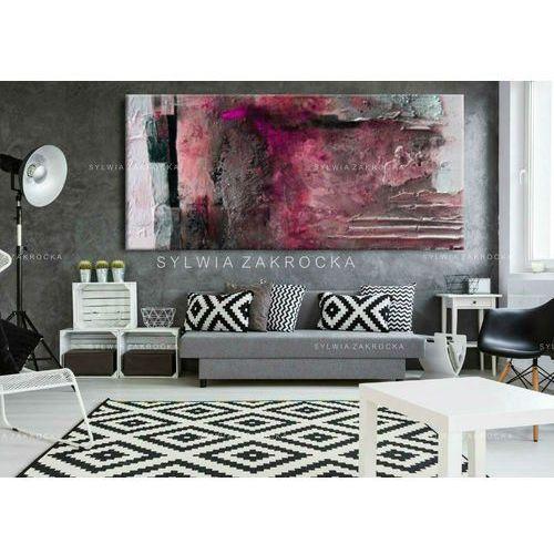Fuksjowa fantazja - Modny obraz na ścianę | obrazy do salonu