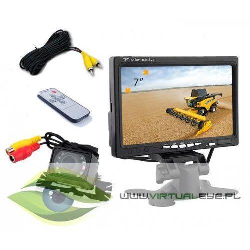Virtualeye Kamera cofania monitor 7 cali diody ir 6m bus tir