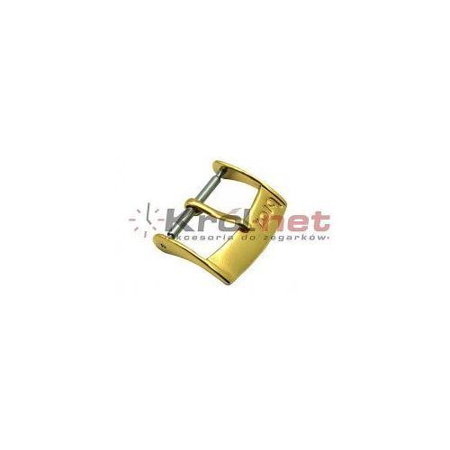 Sprzączka / klamerka żółta - 10, 12, 14, 16, 18, 20 mm, polerowana, ZPB10mm