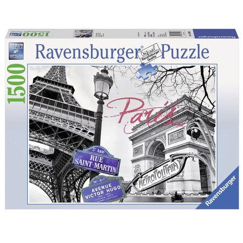 Ravensburger Puzzle 1500 paryż moja miłość (4005556162963)