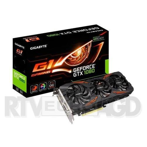 Gigabyte GeForce GTX 1080 OC 8GB GDDR5X 256bit G1 Gaming (0889523006009)