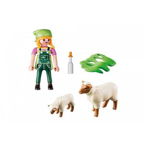 Figurka farmerka z owieczkami marki Playmobil