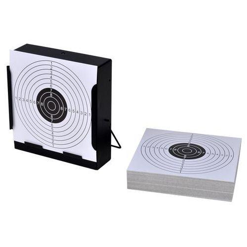 tarcza strzelecka 14cm + tarcze papierowe x 100 marki Vidaxl