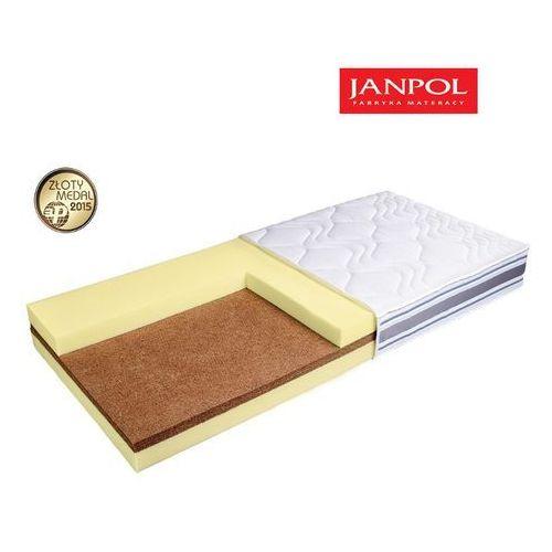 Materace janpol Janpol plantpur superior - materac piankowy, rozmiar - 140x190, pokrowiec - jersey standard wyprzedaż, wysyłka gratis