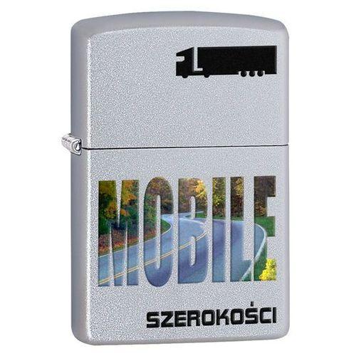 Zapalniczka ZIPPO Szerokości Mobile, Satin Chrome (Z205021) - produkt z kategorii- Zapalniczki