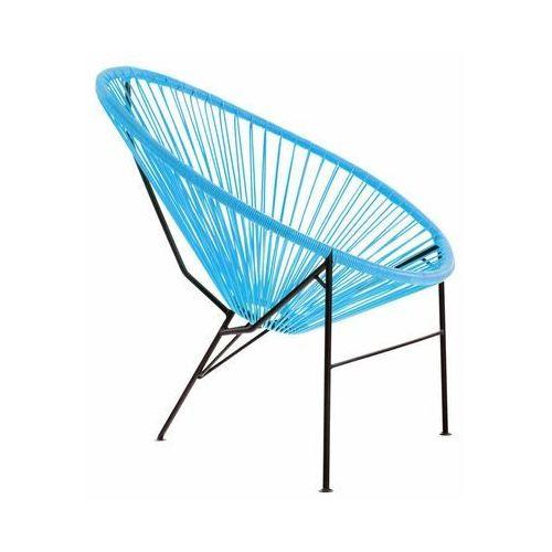 Krzesło ogrodowe ACAPULCO niebieskie (5901721050365)