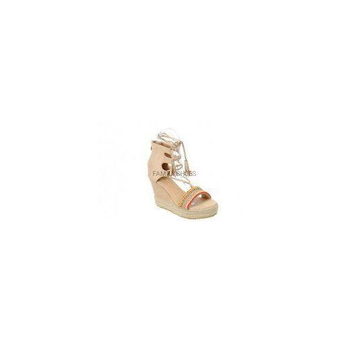 Sandały espadryle koraliki efektowne wiązanie marki Vices