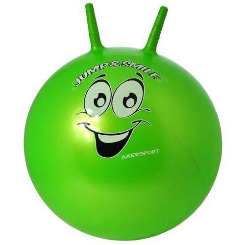 Axer sport Piłka skacząca 55cm - zielony (5901780900489)