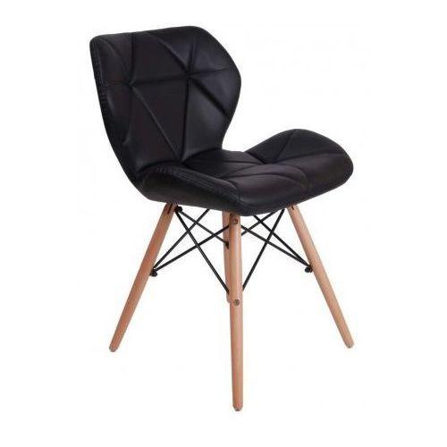 Krzesło oslo czarne marki Krzeslaihokery
