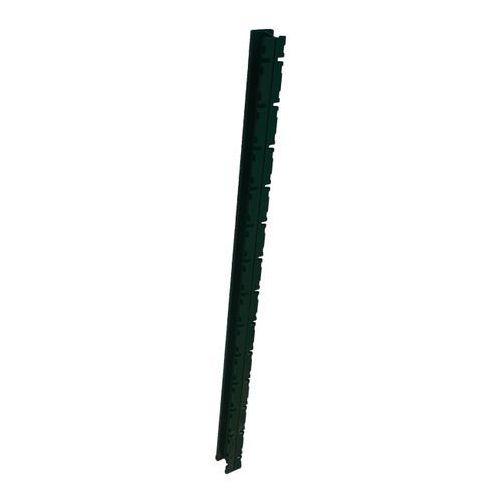 Blooma Słupek do paneli z zaczepami 160 cm ocynk zielony