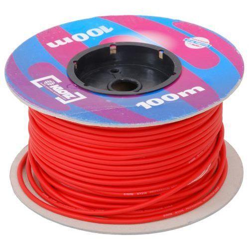 my206 kabel mikrofonowy, czerwony marki Klotz