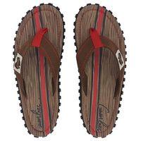 Klapki islander canvas flip - flops men - woody marki Gumbies