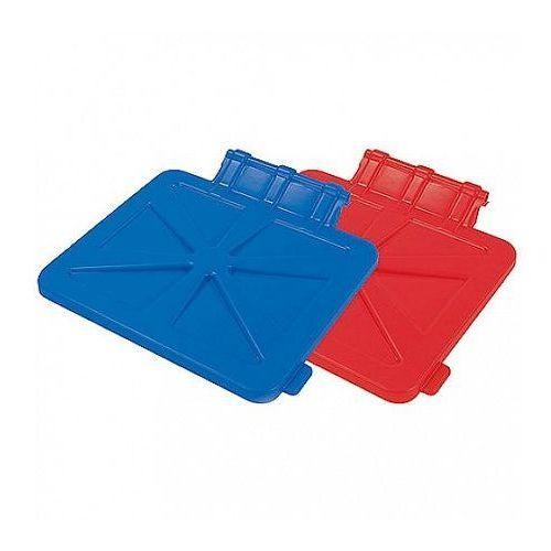 Pokrywa na worek 120 litrów niebieska pokr-0017  - niebieski marki Splast
